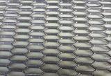 Feuille augmentée hexagonale galvanisée à faible teneur en carbone de plaque de filet à mailles en métal