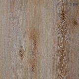 El hogar/el blanco comercial engrasó el suelo dirigido aplicado con brocha de madera de roble