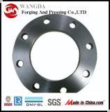 Bride de plaque d'acier du carbone de qualité
