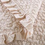 100% Coverlets leggeri ultrasonici dell'assestamento di estate del cammello stampati cotone
