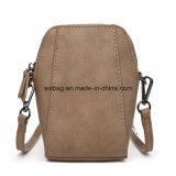 Ripristino sacchetto delle donne dell'unità di elaborazione di stile di mini di Crossbody di modo di cuoio del sacchetto