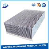 OEM 알루미늄에게 구멍을 뚫거나 Weding 또는 알루미늄 단면도 냉각 핀 방열기 각인하기