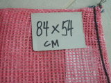 タマネギまたはオレンジ網のポリ袋(山東の工場)のための30*50cmのタマネギの網袋か網袋