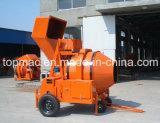 Topmac Marca de auto carga Diesel Hormigonera