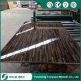 E1에 의하여 접착제로 붙는 850kgs/Cbm 높은 광택 UV 색칠 MDF