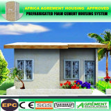 Hogares modulares prefabricados de tres habitaciones/casa prefabricada/tocador portable usado