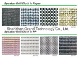 Haut-parleur noir Grill / Échantillons de tissu de tous les chiffons Grill de guitare