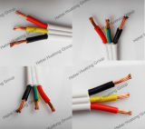 2 conducteurs 0,75 mm2 isolant en PVC et gaine du câble souple plat