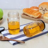 واضحة زجاجيّة عسل زجاجة [500مل]