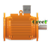 4KW 500rpm gerador magnético, Fase 3 AC gerador magnético permanente do vento, a utilização da água com Baixa Rotação