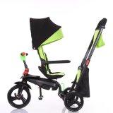 Il prezzo poco costoso di alta qualità calda di vendita sede rotante 360 gradi scherza il triciclo con En71