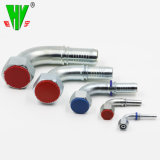 Diversos tipos de adaptadores de mangueras hidráulicas de manguera de suministro de tubería hidráulica de acoplador de giro