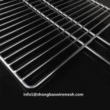 Maille extérieure de gril de BBQ d'acier inoxydable de panier de barbecue de 30 x de 30 cm avec le traitement
