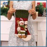 Decoraciones creativas grandes de la media de la Navidad para el árbol de navidad casero