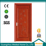 E1 (WDP5002)の家のためのカスタマイズされたデザインPVC木のドア