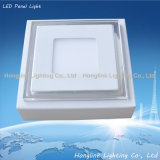 diodo emissor de luz Panel Lighting de 6W 8W 10W Ceiling Surface Mounting Square