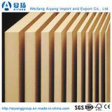 Grado de muebles de 3-20mm MDF Raw de Shandong