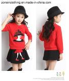 Printed T-Shirt 소녀의 숙녀와 치마 정장 아이들 옷