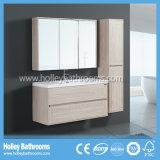 Nuova mobilia della stanza da bagno di stile di nuovo della quercia del bagno del Governo disegno di legno moderno dell'unità (BF114M)
