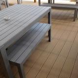 Decking composé en plastique en bois extérieur de WPC avec du ce