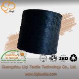 De polyester vlechtte de In de was gezette Naaiende Draad van de Producten van het Leer van de Draad