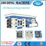 Machine d'impression flexographique non tissée de tissu de vitesse de quatre/six/Huit-Couleur