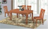 [سليد ووود] [رترو] أسلوب [دين رووم] كرسي تثبيت وطاولة