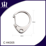 Liga de zinco Metal Spring C Gancho para Keychain