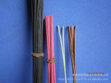 Color de la fibra rota Sticks para la decoración casera