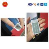 De Prijs PPS, het Rubber van het Silicone, Weerstand Op hoge temperatuur van de fabriek van de Markering van de Wasserij RFID van de Doek de Materiële Passieve