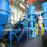Оборудование порошка завода по переработке вторичного сырья покрышек царапина резиновый