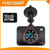 2.7Inch Control Botón táctil Full HD 1080p coche DVR Grabador con grabación de bucle WDR de GPS
