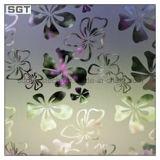 4mm-8mm verre à motifs de décoration