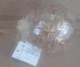 Noël Bille de verre Metallic Gold
