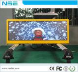 P2.5 P3 P5 Double-Side Smart Display LED para táxi Publicidade Superior