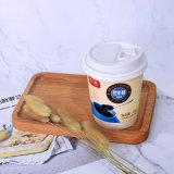 Doble pared de vasos de papel papel desechable tazas taza de té y café.