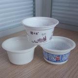 ロゴの直接工場卸売7oz 200ml使い捨て可能なPPのプラスチックヨーグルトのコップおよびふたおよびスプーン