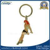 Fördernde Geschenke kundenspezifisches Metall gedrucktes Keychain