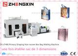 Máquina laminada mais altamente não tecida Zx-Lt400 do saco da caixa de 2016 velocidades