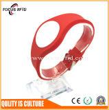 Bracelet imperméable à l'eau d'IDENTIFICATION RF de qualité avec du silicium et la matière plastique