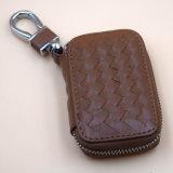 Kundenspezifischer Leder-Auto-Schlüssel-Deckel des Firmenzeichen-Kc_L_002 oder des Auto-Firmenzeichens