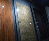 Bestand MDF van het water UVBladen met MDF van de Melamine (houten korrelkleur)