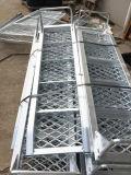 Bas de page forts de treillis métallique de structure avec le feu arrière de LED