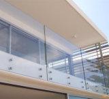 Vente chaude durci le verre feuilleté pour l'immeuble commercial balustrade en verre
