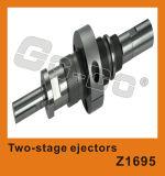 Spritzen-Bauteil-zweistufige Ejektoren
