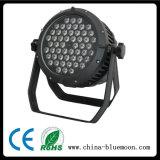 LED屋外の軽い防水3W*54PCS LEDの同価ライト