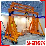 Grue de portique manuelle avec la bonne qualité 500kg-10t