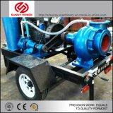 La pompe à eau diesel mobiles avec remorque à partir de 4 pouces à 32 po