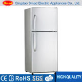 Двойная дверь замораживателя бытовых приборов верхняя отсутствие холодильника заморозка