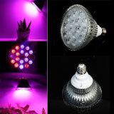 가득 차있는 스펙트럼 E27 15W 가벼운 LED는 플랜트를 위한 램프를 증가한다